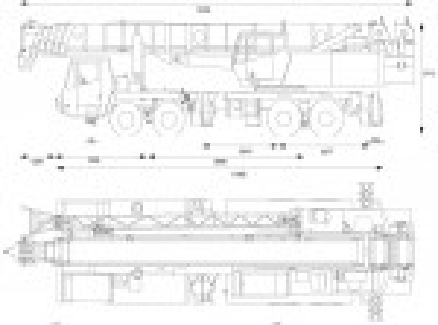 Grove TM9100 Truck M…