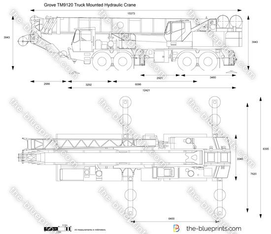 Grove TM9120 Truck Mounted Hydraulic Crane