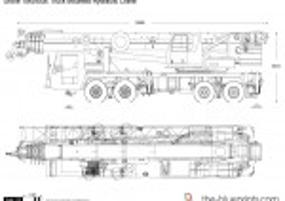 Grove TMS900E Truck Mounted Hydraulic Crane