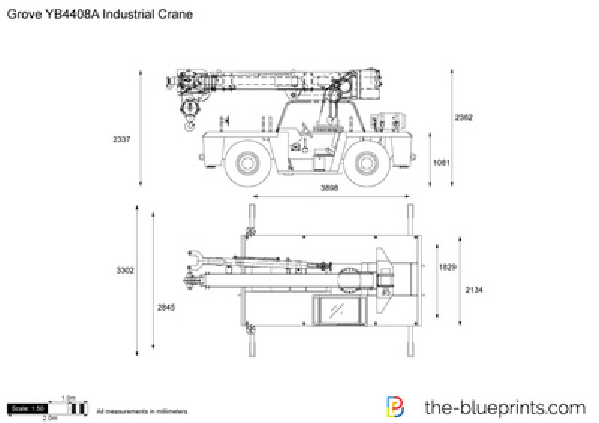 Grove YB4408A Industrial Crane