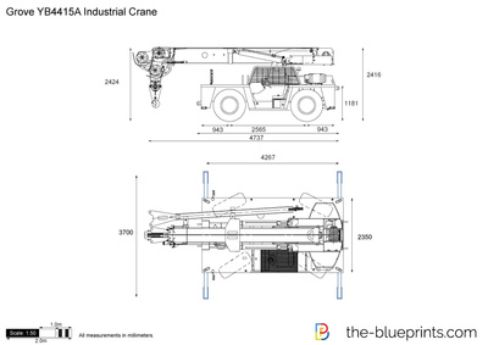 Grove YB4415A Industrial Crane