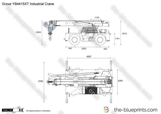 Grove YB4415XT Industrial Crane