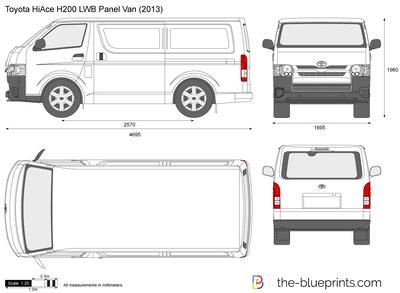 Toyota HiAce H200 LWB Panel Van
