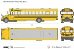 Blue-Bird Vision School Bus (2015)