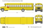 Ford B-700 Thomas Conventional School Bus