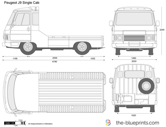Peugeot J9 Single Cab