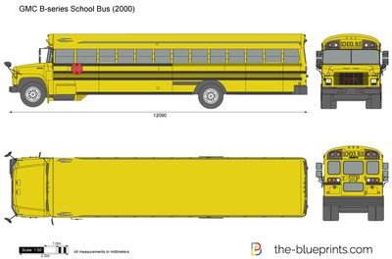 GMC B-series School Bus