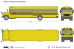 GMC B-series School Bus