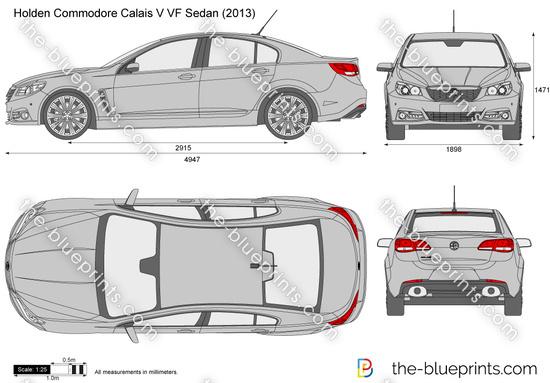 Holden Commodore Calais V VF Sedan
