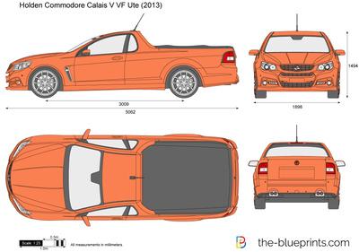 Holden Commodore Calais V VF Ute