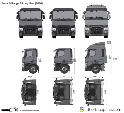 Renault Range T Long Haul