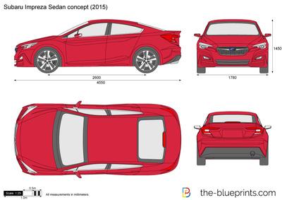 Subaru Impreza Sedan concept (2015)