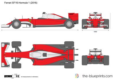 Ferrari SF16-Formula 1 (2016)