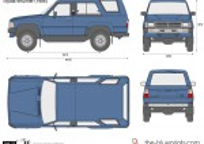 Toyota 4Runner (1986)