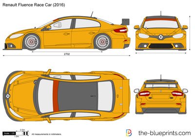 Renault Fluence Race Car