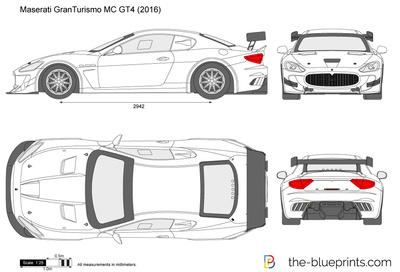 Maserati GranTurismo MC GT4 (2016)