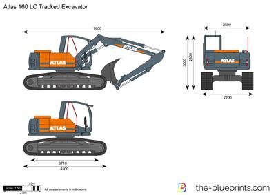 Atlas 160 LC Tracked Excavator