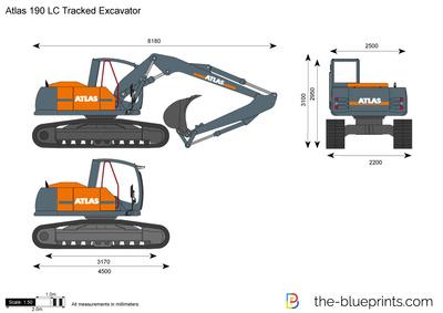 Atlas 190 LC Tracked Excavator