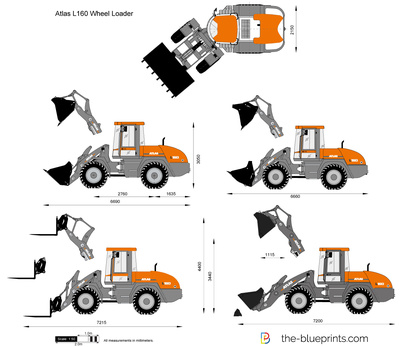 Atlas L160 Wheel Loader