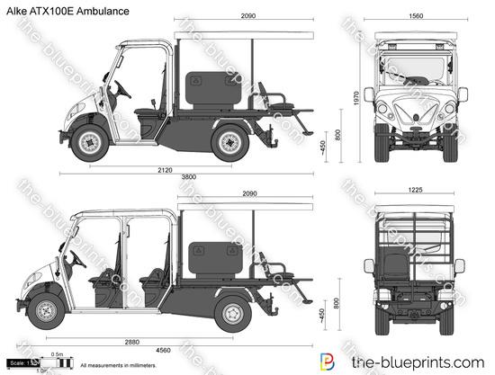 Alke ATX100E Ambulance