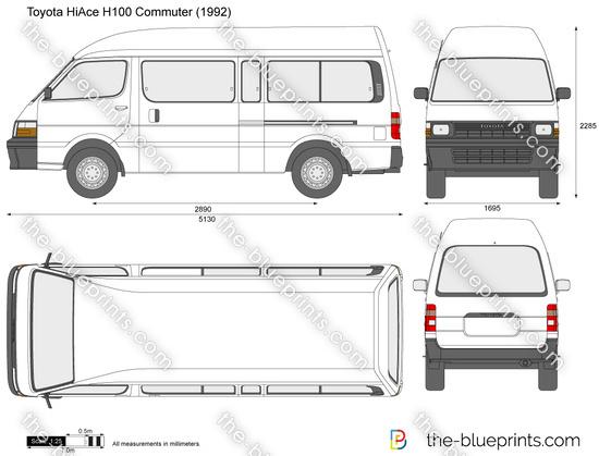 Toyota HiAce H100 Commuter