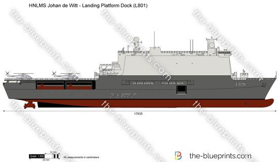HNLMS Johan de Witt - Landing Platform Dock