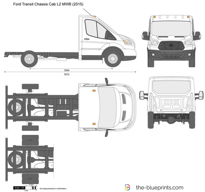 Ford Transit Chassis Cab L2 MWB