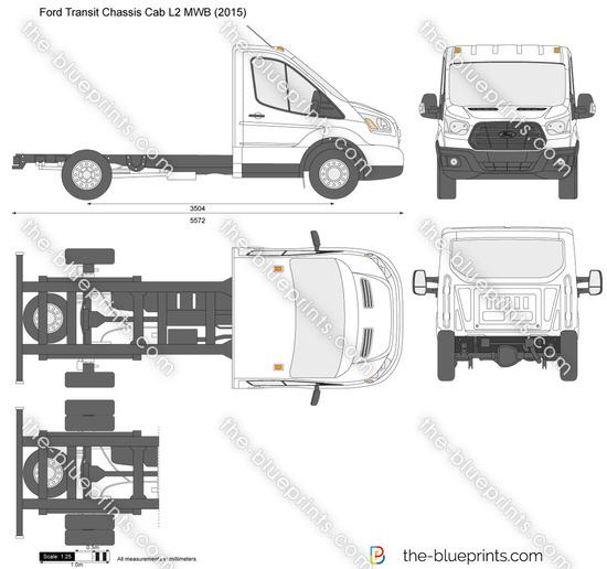 Ford Transit Chassis Cab L2 MWB