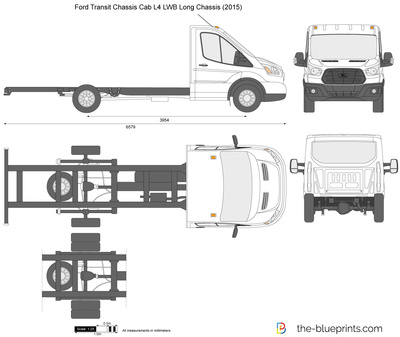 Ford Transit Chassis Cab L4 LWB Long Chassis