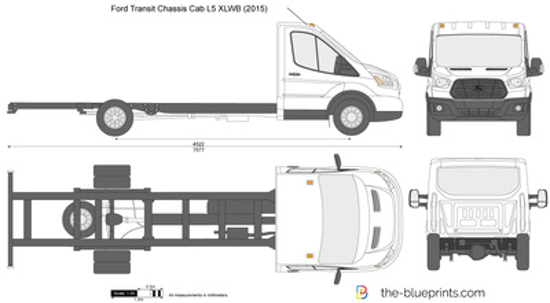 Ford Transit Chassis Cab L5 XLWB