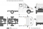 Ford Transit Chassis Double Cab L2 MWB