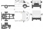 Ford Transit Chassis Double Cab L3 LWB
