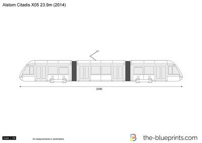 Alstom Citadis X05 23.9m