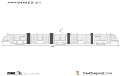 Alstom Citadis X05 32.2m
