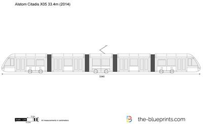 Alstom Citadis X05 33.4m