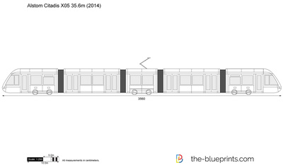 Alstom Citadis X05 35.6m