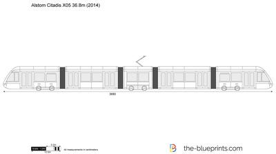 Alstom Citadis X05 36.8m