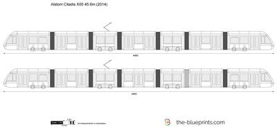 Alstom Citadis X05 44.6m