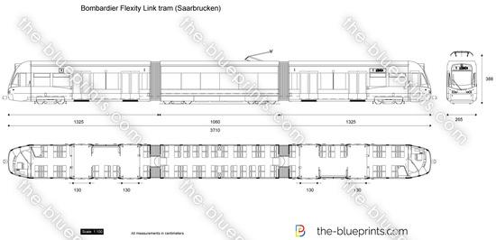 Bombardier Flexity Link tram (Saarbrucken)