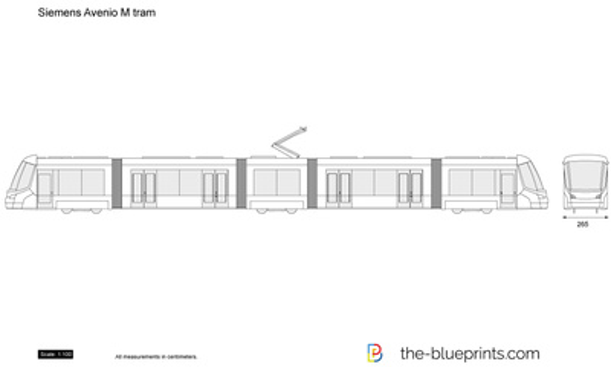 Siemens Avenio M tram