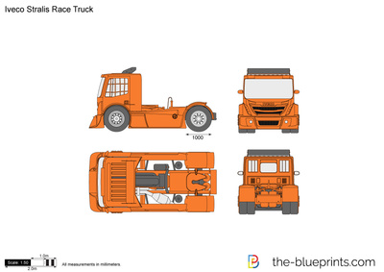 Iveco Stralis Race Truck
