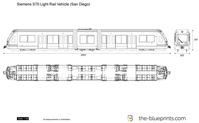 Siemens S70 Light Rail Vehicle (San Diego)