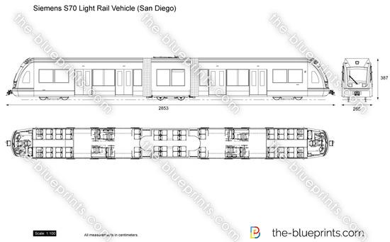 Siemens S70 Light Rail Vehicle (San Diego)