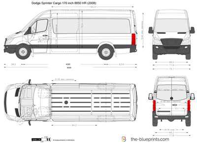 Dodge Sprinter Cargo 170 inch 8850 HR