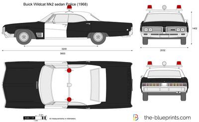 Buick Wildcat Mk2 sedan Police