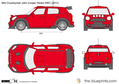 Mini Countryman John Cooper Works WRC