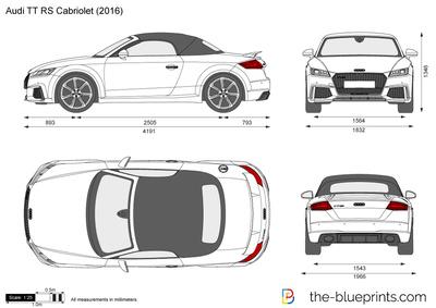 Audi TT RS Cabriolet (2016)