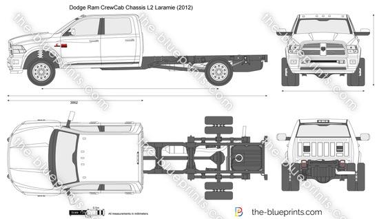 Dodge Ram CrewCab Chassis L2 Laramie