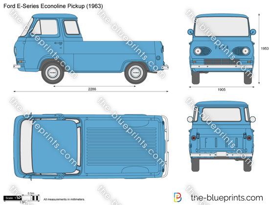 Ford E-Series Econoline Pickup