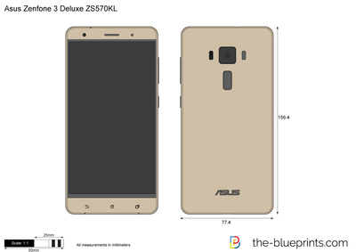 The blueprints vector drawing asus zenfone 3 deluxe zs570kl asus zenfone 3 deluxe zs570kl malvernweather Choice Image